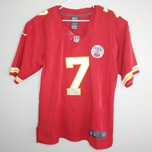 Nike NFL #7 Matt Cassel Kansas City Chiefs Jersey